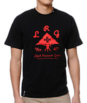 LRG OG Army Knit Black Tee Shirt