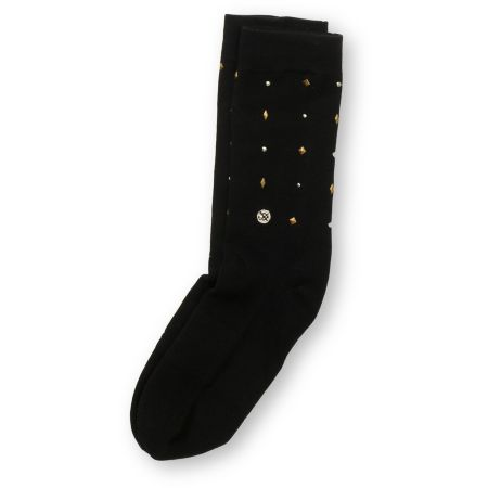 Stance Girls Bam Bam Black Stud Crew Socks
