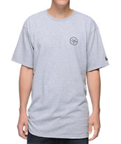 IMKing Pocket Blitz Grey Tee Shirt