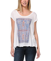 Insight Girls Rug White Tee Shirt
