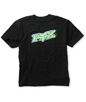 Fox Boys Chemistry Black Tee Shirt
