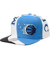 NBA Mitchell And Ness Magic Swirl Blue Snapback Hat
