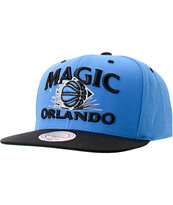 NBA Mitchell and Ness Magic Grand Arch Snapback Hat