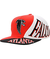 NFL Mitchell And Ness Atlanta Falcons Skew Snapback Hat