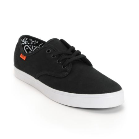 Vans Madero Black Twill Shoe