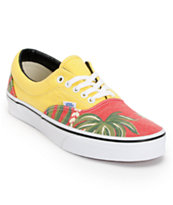 Vans Era Van Doren Hawaiian Red Canvas Shoe