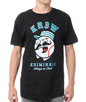 KR3W Kriminals Black Tee Shirt