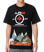 LRG Rugged Alpine Black Tee Shirt