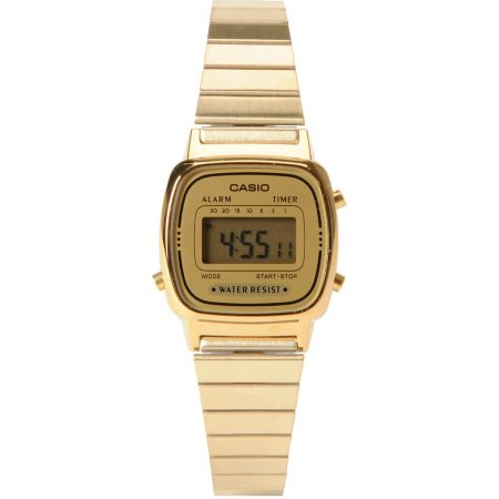 Casio LA670WGA-1DF Small Classic Vintage Gold Watch
