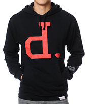 Diamond Supply Big Unpolo Black Pullover Hoodie