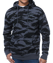 Neff Jungle Charcoal Camo Pullover Hoodie