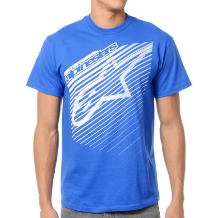 Alpinestars Eclipse Blue Tee Shirt