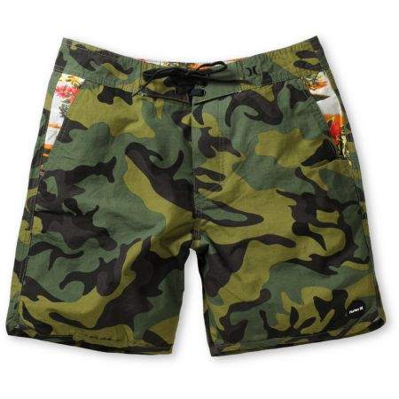 Hurley Cool By The Pool Camo Hybrid Shorts