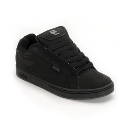 Etnies Fader Black & Dirty Wash Skate Shoe
