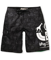 LRG Core Logo Black 21 Board Shorts