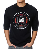 KR3W Shield Black Tee Shirt