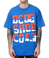 DC Differential Blue Tee Shirt