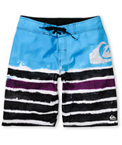 Quicksilver Cypher Roam Blue & Black 21 Board Shorts