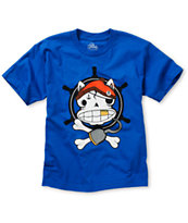 A-Lab Boys Powder Monkey Blue Tee Shirt