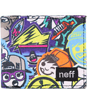 Neff Wally Jumble Bi-Fold Wallet