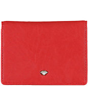 Diamond Supply Bi-Fold Red ID Wallet