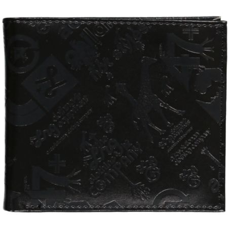LRG Core Collection Black Bi-Fold Wallet