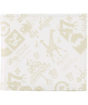LRG Core Collection White Bi-Fold Wallet