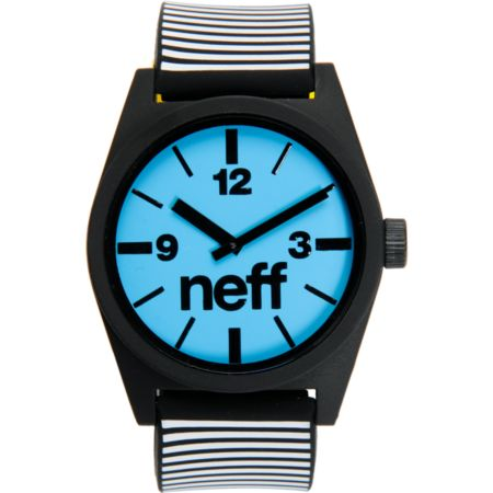 Neff Daily Black Stripe Analog Watch