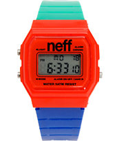 Neff Flava RBG Digital Watch