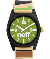 Neff Daily Camo & Olive Analog Watch