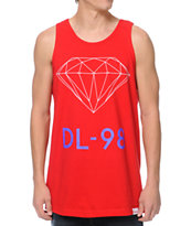 Diamond Supply DL-98 Red Tank Top