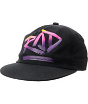 Neff Rad Black Snapback Hat