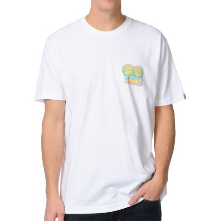 Summer Teeth Terror Toad White Tee Shirt