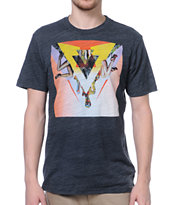 Volcom Emily Hoy Heather Black Tee Shirt