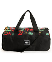 Herschel Supply x Stussy Sutton Black Duffle Bag