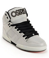 Osiris NYC 83 Silver & Black Flash Reflective Skate Shoes