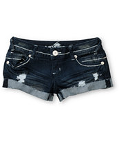 Almost Famous Maria Dark Indigo Cut Off Shorts