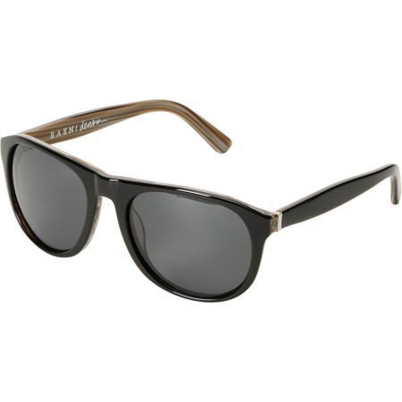 RAEN Optics Deakin Wood Grain & Black Polarized Sunglasses