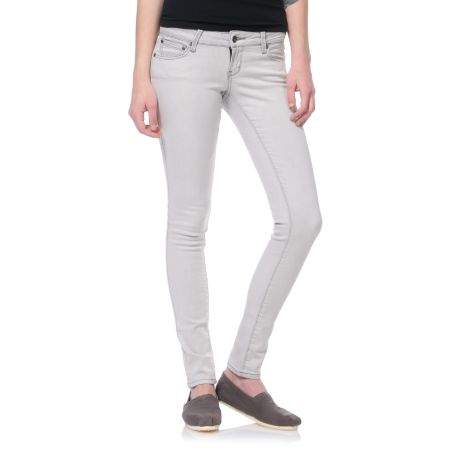Empyre Girls Logan Chalk Grey Skinny Jeggings