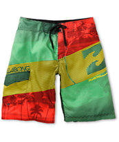 Billabong Blaster Rasta Board Shorts