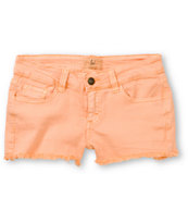 Lost Doll Tarte Coral Cut Off Shorts