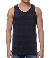 RVCA Shaman Grey Striped Tank Top