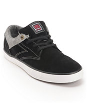 Ipath Westwing Low Black & Red Rust Skate Shoe
