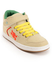 Ipath Grasshopper Natural & Rasta Hemp Shoe