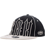 SRH Headbang Font Black & Grey Flexfit Hat