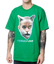 Odd Future x Real Skateboards Fergolfson Green Tee Shirt