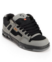 DVS Enduro Heir Black & Grey Skate Shoe