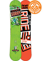 Ride Snowboards Crush 156cm Wide Snowboard 2013