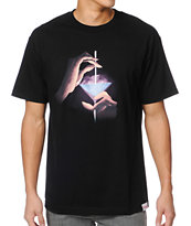 Diamond Supply Taste The Diamond Life Black Tee Shirt