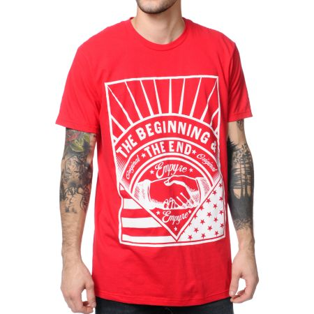 Empyre The Beginning Red Tee Shirt